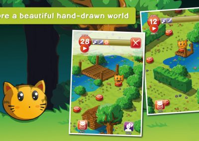 Puzzycat - Explore a beautiful hand-drawn world