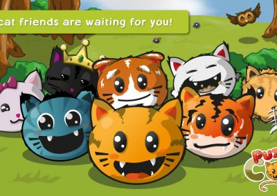Puzzycat - The cat friends are waiting for you!