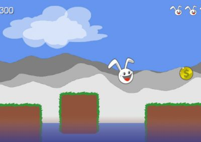 Canyon Bunny - Lead the bunny through a challening level