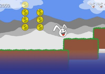 Canyon Bunny - Collect the coins...